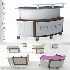 Palmieri | Welcome customers, provide information, direction, circulate or check-out items with Navigate! Discover the newest Navigate service desk series: 4200 – 4800 & 5100 which have been de…