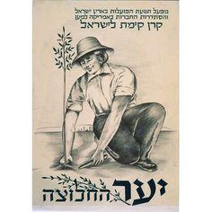 יער החלוצה | לא ידוע | מכון שנקר לתיעוד וחקר העיצוב בישראל