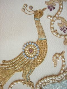 beautiful goldwork embroidery (Russian, ecclesiastical)
