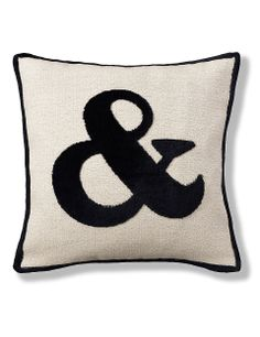 Ampersand Cushion | M&S