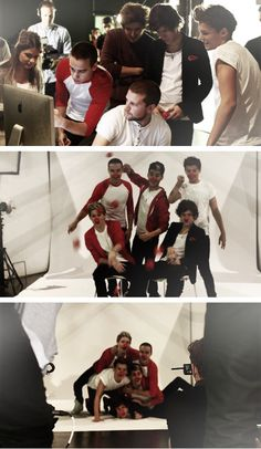 One Direction Red Nose Day photoshoot. :) x