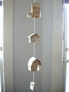 guirlande de maisons