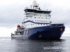 Arctech Helsinki Shipyard delivered, icebreaker Polaris, to the Finnish Transport Agency on September 28th, 2016.