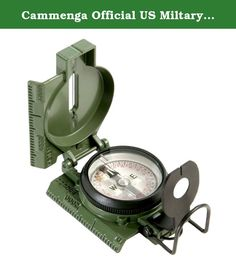 Cammenga Official US Miltary Tritium Lensatic Compass, Clam Pack. The tritium lensatic Compass is built to the demanding specification mil-prf-10436n. Battle tested through rigorous shock, water, sand proof, and functional from -50O F to +150O F. Seven tritium Micro lights allow for navigation in low-light conditions, without the need for a flashlight or any other light source. Tritium Micro lights remain luminous for over twelve years, maintenance-free. Equipped with a magnifying lens...
