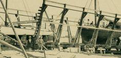 South Beach Boatyard, August 1925.  Courtesy of Nantucket Historical Association.