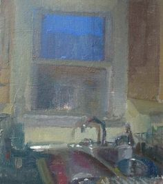 "Matt Klos, ""Kitchen Window, Nightfall"""