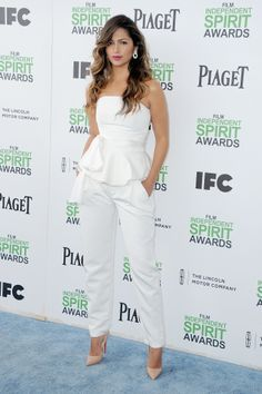 Camila Alves at the Spirit Awards