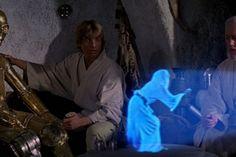 Los hologramas del universo Star Wars tenían una calidad de imagen bastante cuestionable, pero su tecnología capaz de captar todos los detalles en 3D del remitente parecía estar a años luz (eso ha sido un chiste) de los hologramas que tenemos en la Tierra. En realidad esa tecnología está a la vuelta de la esquina.</p>