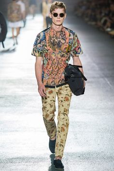 Dries Van Noten Spring 2014 Menswear - Collection - Gallery - Style.com