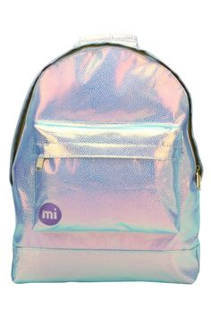 We stock the super-stylish Mi-Pac backpacks and accessories in store and online at www.thunderegg.co.uk We can't get enough of this amazing iridescent pebbled fabric!!