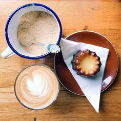Arthur Bananas - #Coffee and #Canele. #Melbourne #cafe #foodporn...