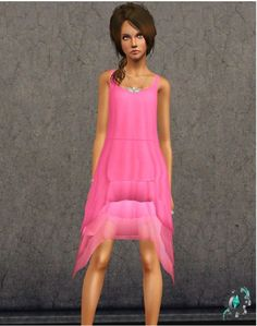 New dress at Sims 3 Art Factory - Sims 3 Finds