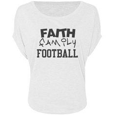 FAITH FAMILY FOOTBALL | FAITH FAMILY FOOTBALL Customized Girl, Faith, Football, T Shirt, Tops, Women, Fashion, Soccer, Supreme T Shirt