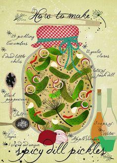 how-to-make-spicy-pickles- by Sevenstar aka Elisandra, via Flickr