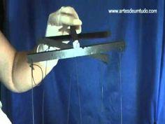 DIY Fantoche de Espuma #24 Como Colocar os Fios nas Pernas