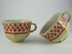 Vintage Unique Coffee Tea Cup Espresso by ContesDeFees on Etsy, $23.80