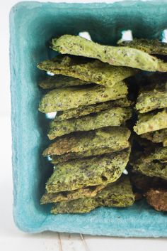 Homemade Kale Crackers
