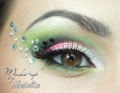 DIY Halloween Makeup : Eyes and eye make up