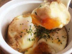 朝食に☆レンジで簡単バターエッグの画像