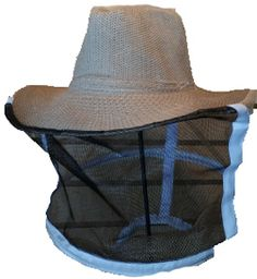 Make sure you're #beekeeping in style with this cowboy hat #honeybee veil combo. #BeeWell http://beewellhoneyfarm.com/product/veil-cowboy-beekeeper/