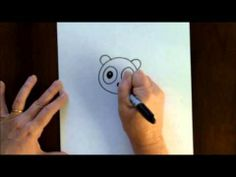 Easy Cartoon Drawing Tutorials - How to Draw a Cute Football - YouTube