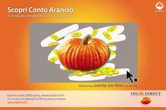 Print adv - Conto Arancio Contest, ITA 2010.