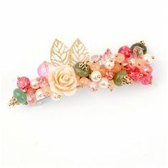 Fine Fashion Style Flowers Bloom Hair Jewelry