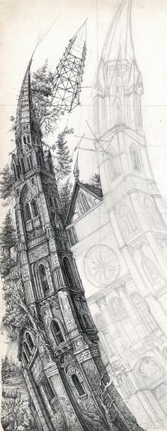 Drawings by Teodor Manolov