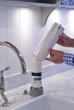 The Brondell H20 Pearl Water Filtration System Has A Ful 3 Stage With Uf