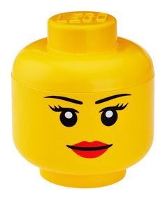 50% OFF TODAY on Zulily!! Perfect for Lego Themed parties! Tons of awesome party stuff! Take a look at this Room Copenhagen LEGO Woman Storage Head by LEGO Storage on #zulily today!