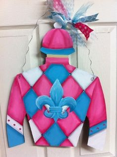 Teeem Up Jockey Silk From Chelle Belles Creations