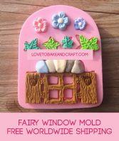 Window mold, fairy house, fairy mold, window mould, fairy silicone mold, free worldwide shipping