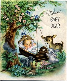 Welcome baby dear | A new baby at your house/ For crying out… | Flickr