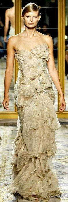 Strapless Dress Formal, Formal Dresses, Wedding Dresses, Shades Of Gold, Marchesa, One Shoulder Wedding Dress, Personal Style, Ready To Wear, Cool Outfits