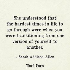 I'm starting to understand