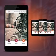 Bicycle Android Homescreen by peszek - MyColorscreen
