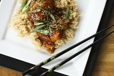 Slow-Cooker Honey Sesame Chicken | Tasty Kitchen