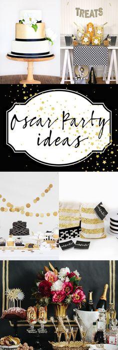 DIY Oscar Party Ideas