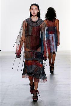 Sfilata Parsons MFA New York - Collezioni Primavera Estate 2018 - Vogue