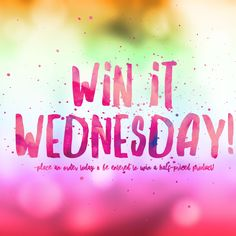 Win it Wednesday! Place a Younique order today and be entered to win a half-priced item. Body Shop At Home, The Body Shop, Facebook Party, For Facebook, Silver Icing, Pure Romance Party, Street Game, Lemongrass Spa, Interactive Posts
