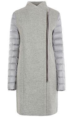 Пальто на натуральном пуху