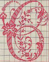Ancient old cross stitch alphabet - free cross stitch patterns crochet knitting amigurumi Monogram Cross Stitch, Cross Stitch Borders, Cross Stitch Art, Cross Stitch Alphabet, Cross Stitch Designs, Cross Stitching, Cross Stitch Embroidery, Stitch Patterns, Embroidery Alphabet