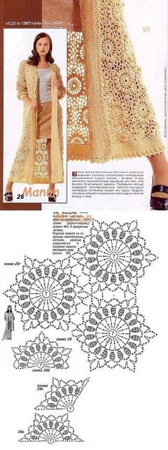 Captivating Crochet a Bodycon Dress Top Ideas. Dazzling Crochet a Bodycon Dress Top Ideas. Gilet Crochet, Crochet Coat, Crochet Cardigan Pattern, Crochet Shirt, Crochet Books, Crochet Clothes, Crochet Lace, Booties Crochet, Free Crochet