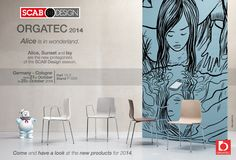 SCAB DESIGN is waiting for you @  ORGATEC - from 21 to 25 Octuber 2014