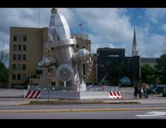 America's largest fire hydrant in Columbia, S.C.