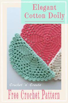 Crochet Placemat Patterns, Crochet Table Runner Pattern, Crochet Mandala Pattern, Crotchet Patterns, Crochet Circles, Crochet Chart, Thread Crochet, Crochet Stitches For Beginners, Crochet Dollies