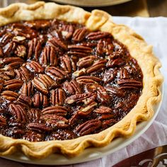 This Salted Caramel Pecan Pie from Paula Deen has a deep caramel flavor and a teaspoon of sea salt really accentuates this flavor and creates that wonderful salty/sweet combo that is so popular in desserts. With a big scoop of vanilla ice cream or sweetened whipped cream, this pie makes one heck of a Thanksgiving …