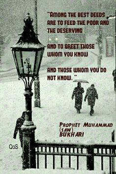Hadith (saying) of  Prophet Muhammad (saw)  Bukhari