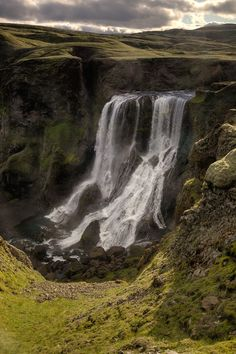 Fagrifoss, Iceland http://www.juzaphoto.com/galleria.php?t=301665&l=it