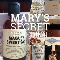 What's in Mary's Secret Ingredient Box? Fun Cooking, Blues, Mary, News, Box, Summer, Snare Drum, Summer Time